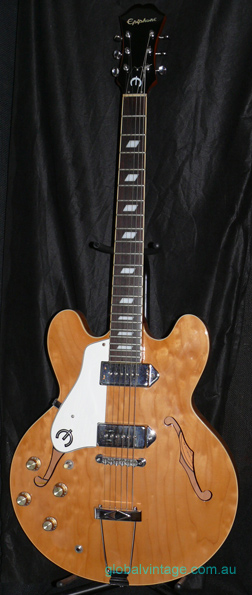 ~SOLD~Epiphone Korea Casino LH NA Left handed